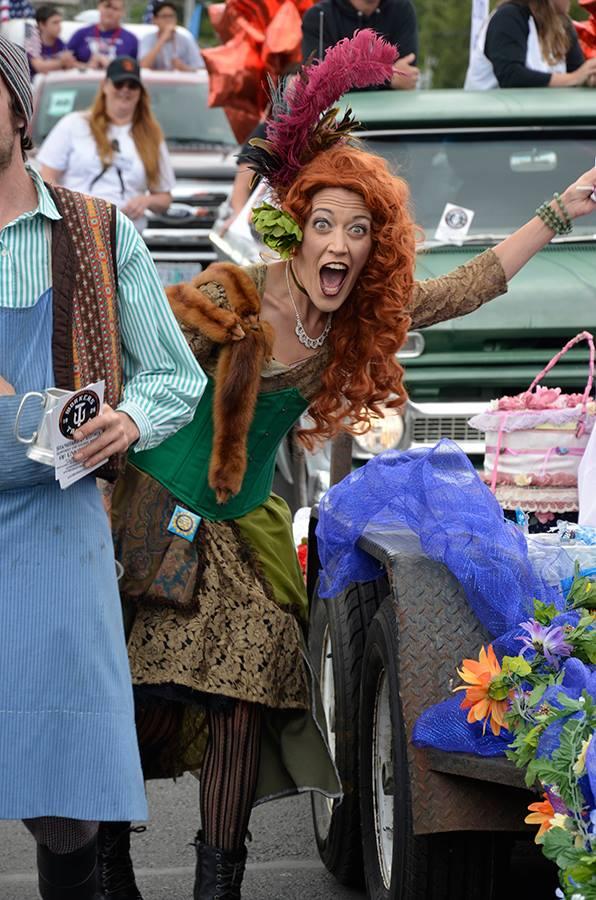 Shanghaied in Regatta Parade, Patrician VonVintage as Vivian