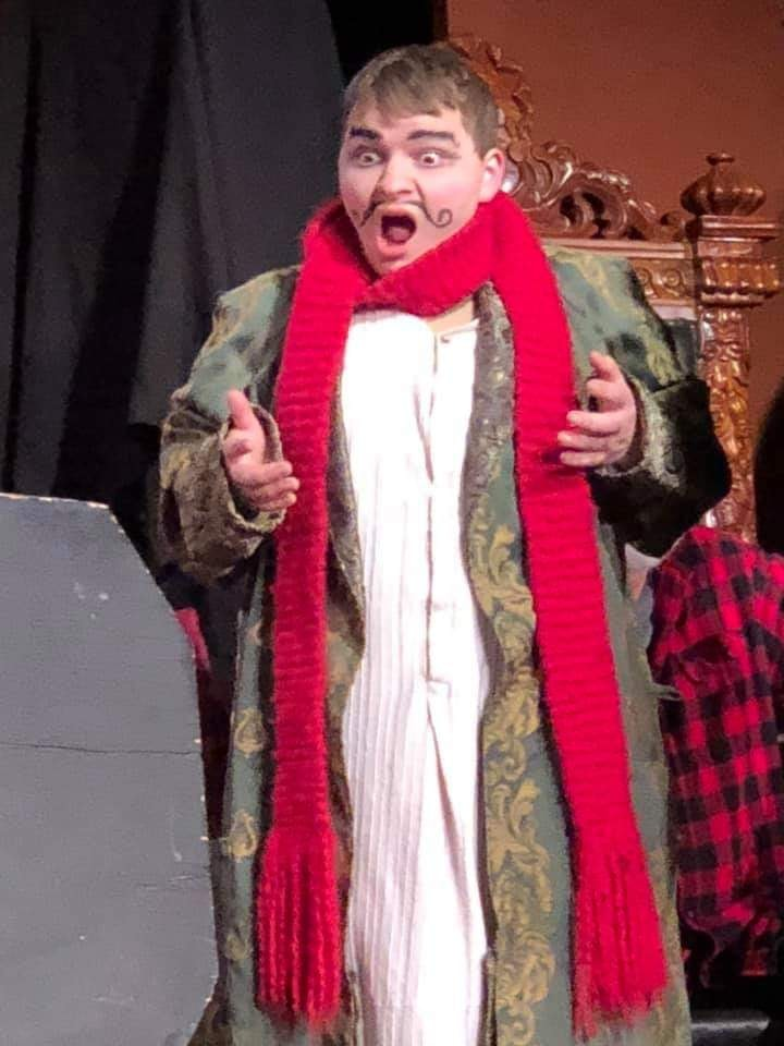 Zach Sandoval as Max Krooke, Jr, Scrooged 2018
