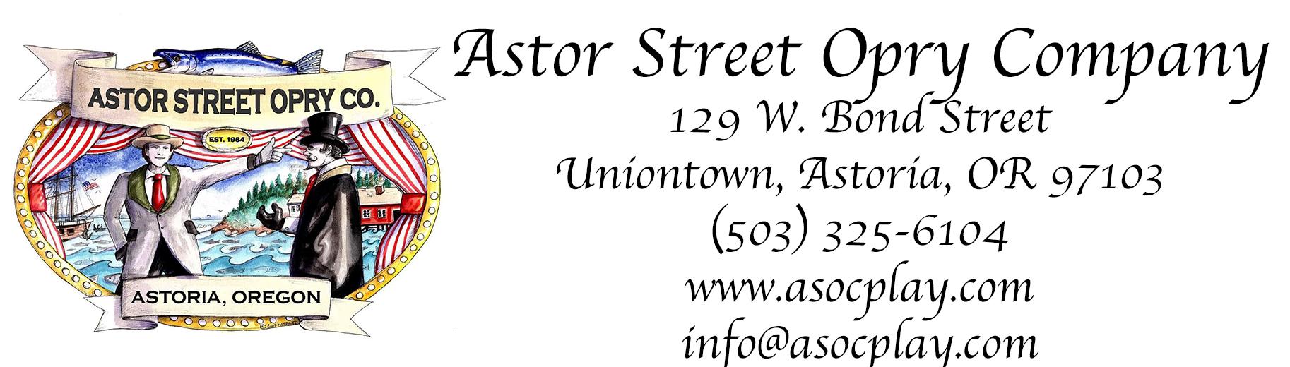 Astor Street Opry Company Logo